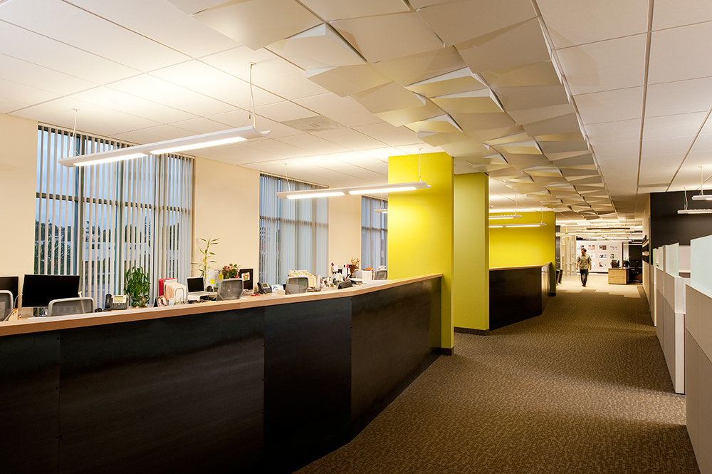 Architects hgw hanna gabriel wells vitro agency offices for Carter wells interior design agency